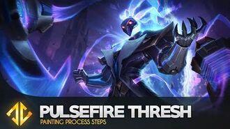 Pulsefire Thresh - League of Legends Splash Art Process