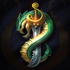 Schlangenwappen Beschwörersymbol