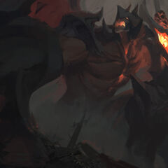 Aatrox Update Splash Concept 3 (by Riot Artist <a href=