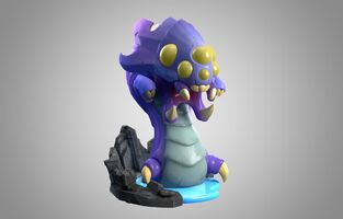 Baron Nashor Statue model 01