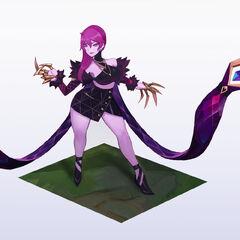 Concepto de Evelynn K/DA 1 (por el artista de Riot, <a class=