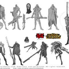 Jhin Concept 9 (by Riot Artist <a href=