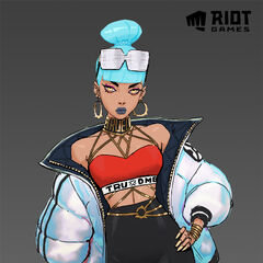 True Damage Qiyana Concept 8 (by Riot Artist <a href=