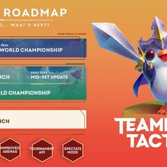 Teamfight Tactics Development Road Map