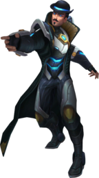 Twisted Fate Pulsefire Render
