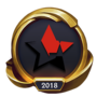 Worlds 2018 PENTAGRAM (Gold) Emote