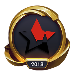 Worlds 2018 PENTAGRAM (Gold) Emote