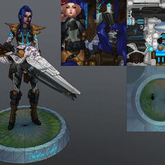 Pulsefire Caitlyn Model 3 (by Riot Artist <a rel=