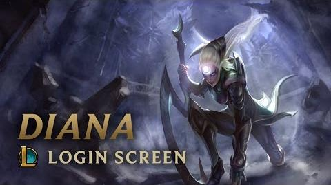 Diana, Scorn of the Moon - Login Screen