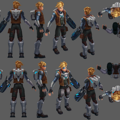 Pulsefire Ezreal Update Model 1