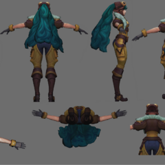 Aviator Irelia Update Model 2 (by Riot Artists <a href=