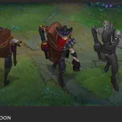 High Noon Jhin Concept 2 (by Riot Artist <a href=