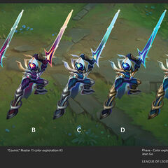Cosmic Blade Yi Concept 5 (by Riot Artist <a href=