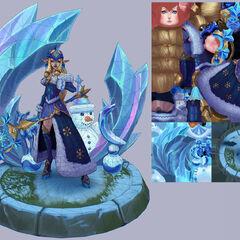 Winter Wonder Soraka Model 7 (by Riot Artist <a href=