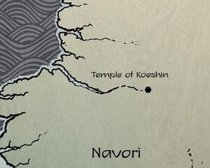 Temple of Koeshin map 01