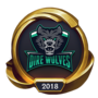 Worlds 2018 Dire Wolves (Gold) Emote