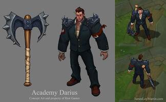 Darius Akademie- Konzept