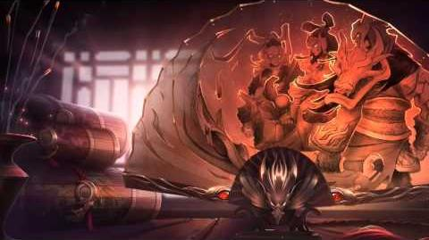 Lunar Revel 2013 (Tryndamere, Diana & Riven) League Of Legends Login Screen With Music