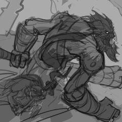 Trundle Update Splash Concept 2 (by Riot Artist <a href=
