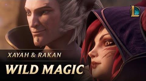 Xayah and Rakan Wild Magic New Champion Teaser - League of Legends