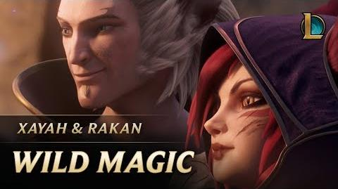 Xayah and Rakan Wild Magic New Champion Teaser - League of Legends