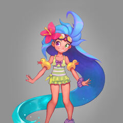 Pool Party Zoe Concept 3 (by Riot Artist <a href=