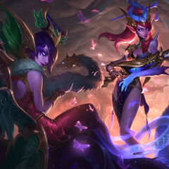 Lunar Wraith Caitlyn and Morgana