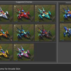 Arcade Corki Chroma Concept (by Riot Artists <a href=