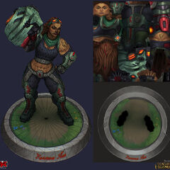 Resistance Illaoi Model 3 (by Riot Artist <a href=