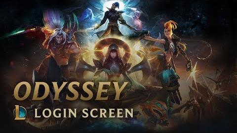 Odyssee - Login Screen