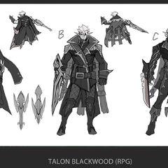 Talon Blackwood Concept 2 (by Riot Artist <a href=