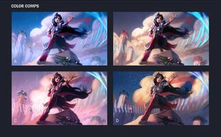 Irelia Update Splash Konzept 02