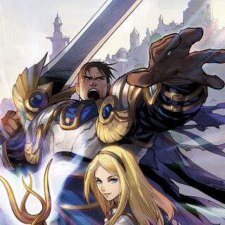 Garen, Lux and Sylas