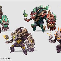Worldbreaker Maokai Concept 1 (by Riot Artist <a href=