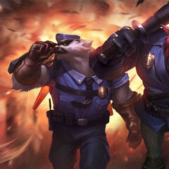 Captain Volibear and Constable Trundle