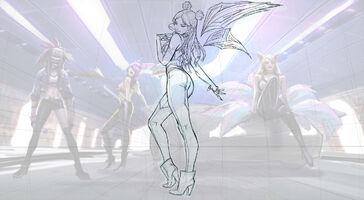 Kai'Sa KDA Splash Konzept 01
