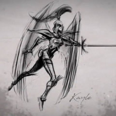 Kayle Concept 2 (by Riot Artist <a href=