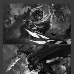 PROJECT: Pyke Splash Concept 2 (by Riot Artist <a href=