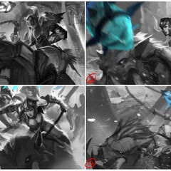 Traditional Sejuani Update Splash Concept 1 (by Riot Artist <a href=