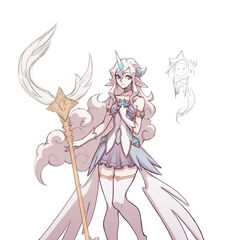 Star Guardian Soraka Concept 5 (by Riot Artist <a href=