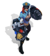 Vi Officer Vi (Aquamarin) M