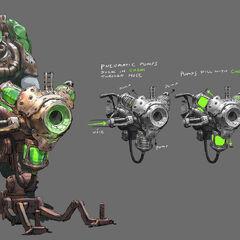 Zaun The Climb Concept 1 (by Riot Artist <a class=