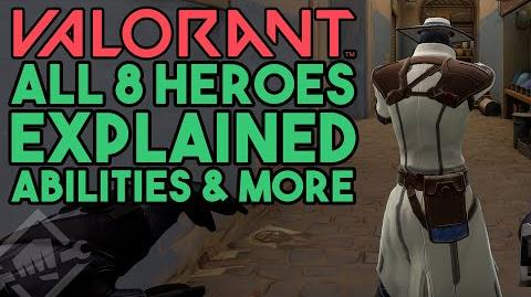 All 8 Valorant Heroes Explained with Gameplay (Project A, Valorant Abilities )