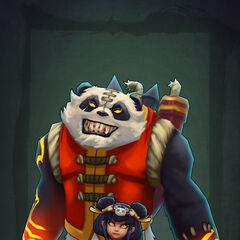 Panda Annie Model 4 By Riot Artist (by Riot Artist <a href=