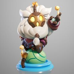 Bard Statue Model 1 (by Riot Artists <a href=