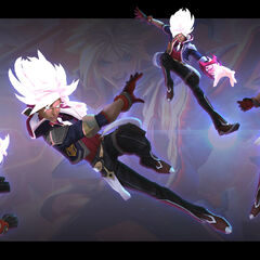 Battle Academia Ezreal Model 3 (by Riot Artist <a href=