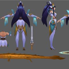 Divine Sword Irelia Model