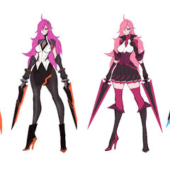 Battle Academia Katarina Concept 3 (by Riot Artist <a href=