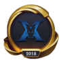 Worlds 2018 Kingzone DragonX (Gold) Emote