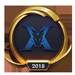 Worlds 2018 Kingzone DragonX (Gold) Emote